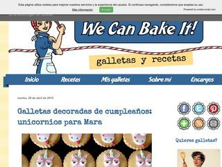 We Can Bake It!