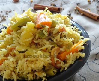 Vegetable Briyani | Indian Biriyani Recipe