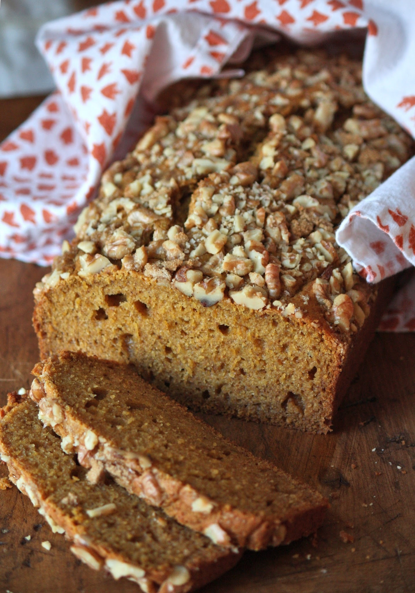 Happy Fall and Pumpkin Bread
