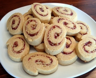 Swirly Cookies with Jam