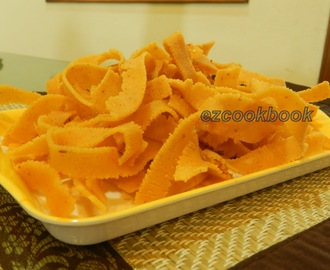 Ribbon Murukku ~  Savory Treats For Indian Festivals