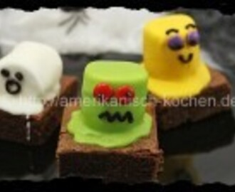 Halloween Week #4: Monster-Brownies