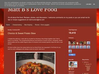 Matt B's Love Food