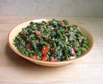 Buckwheat Groats Tabouli Salad