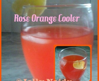 Rose Orange Cooler | Refreshing Drink
