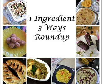 1 Ingredient 3 ways – Roundup
