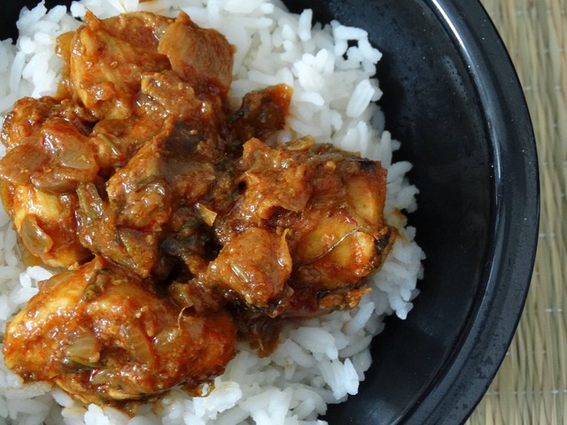 Chicken Semi Dry Curry