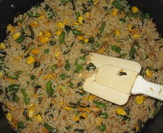 Vegetable Pulao in minutes