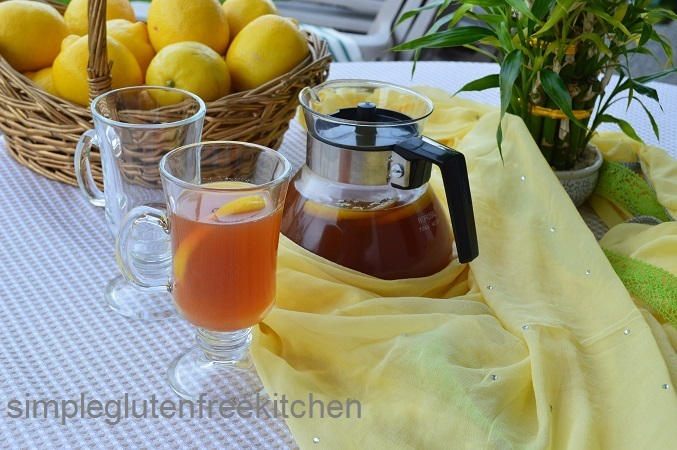 Iced Lemon Ginger Tea