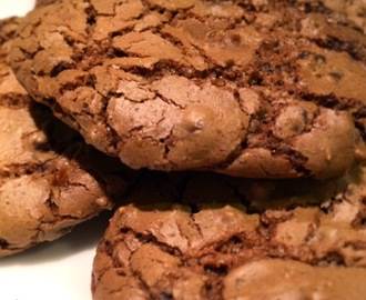 Cookies al cioccolato con olio di cocco - Chocolate chip cookies withcoconut oil