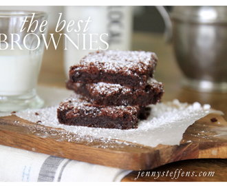 The BEST Brownies... Truffle Brownies | LG EasyClean Oven Range