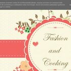 Fashion and cooking