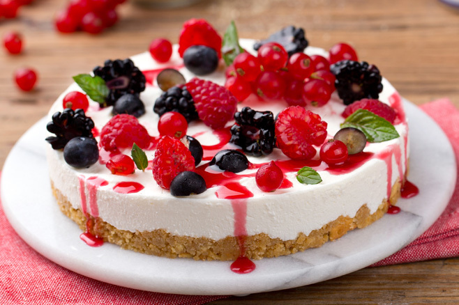 Cheescake de Frutos Rojos