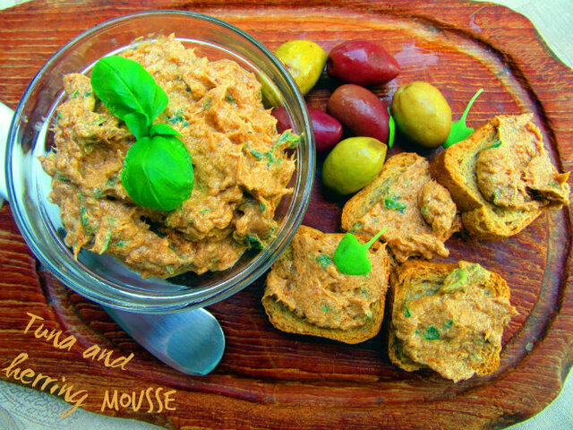 Pjena od tune i haringe :: Tuna and herring mousse