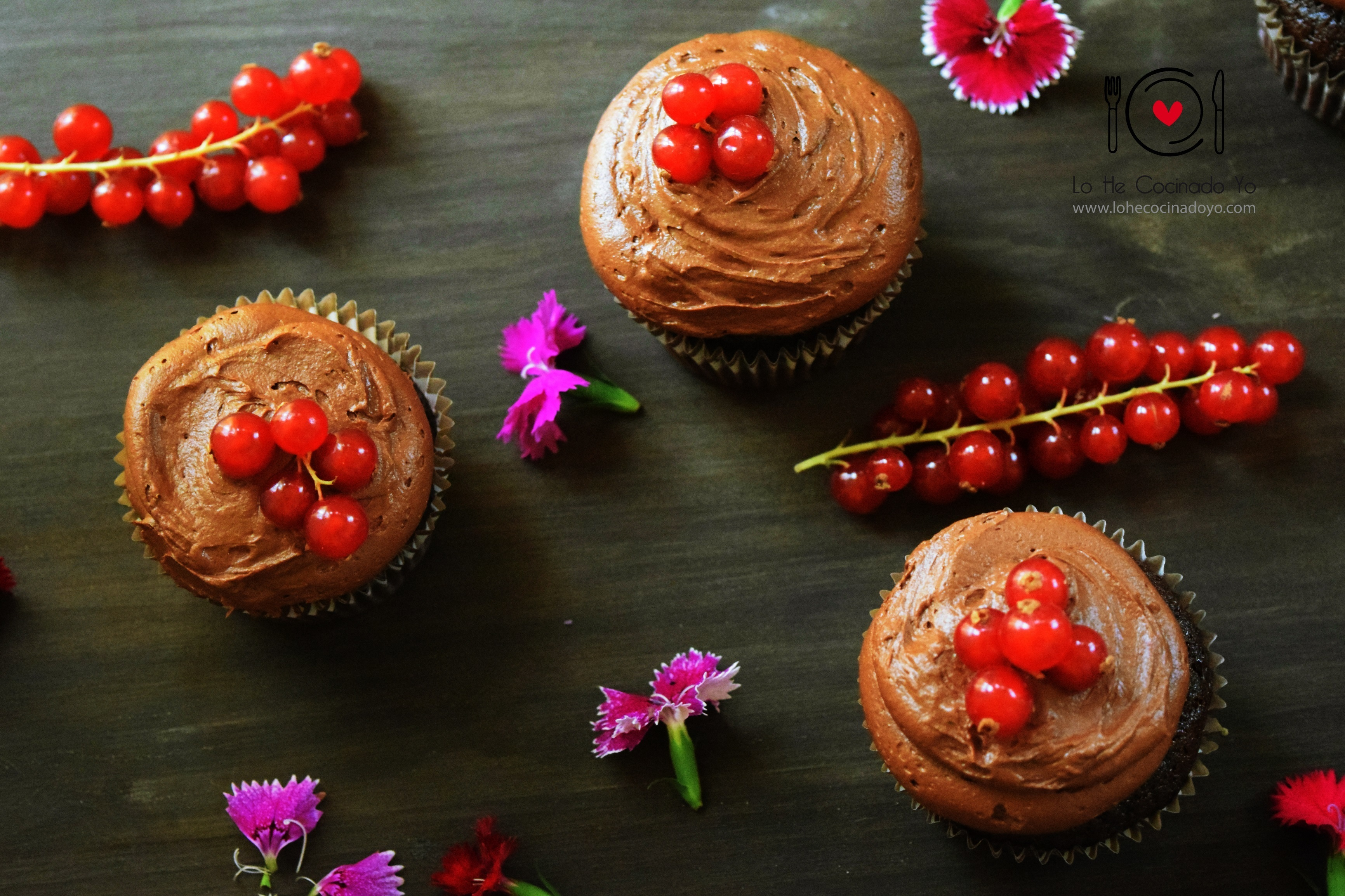 Cupcakes con Mucho Chocolate