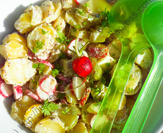 Salade de radis et pommes de terre / Radish and Potato Salad