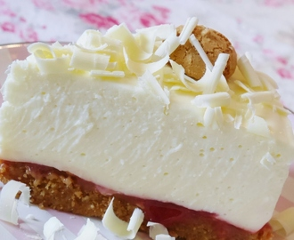 White Chocolate-Cheesecake