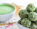 "Keep it ""rollin""- green, healthy, Matcha!"