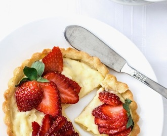 Fresh Strawberry Tarts Recipe