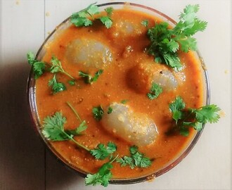 Ice Apple Gravy Curry ( Thati Munjala Koora )