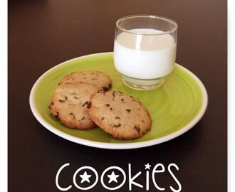 COOKIES (GALLETAS CON CHOCOLATE)
