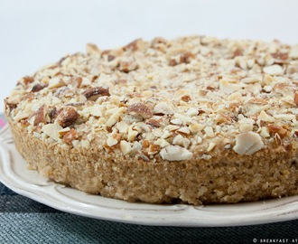 Torta vegan allo yogurt alle mandorle / Almond yogurt vegan cake recipe