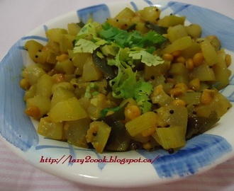 Dudhi Bhoplyachi Bhaji | Bottle gourd Vegetable