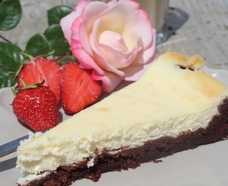 Cheesecake‑Brownie