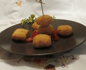 Croquetas de queso de Julia Child.