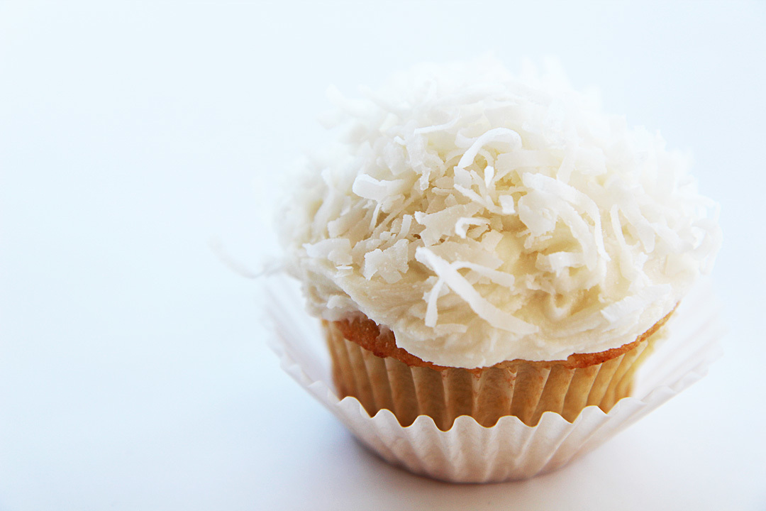 Martha Stewart's Coconut Cupcakes and the Frosting that Changed my Life