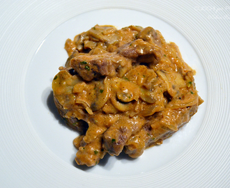 Filetto alla Stroganoff