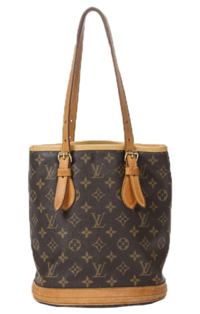 LOUIS VUITTON Bucket Aak2005, Brown
