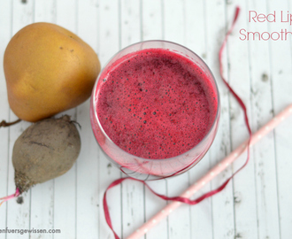 {Smoothie Sunday} Red Lips Smoothie / Rote Beete, Apfel, Birne