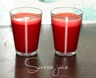 Sunrise juice (detox)