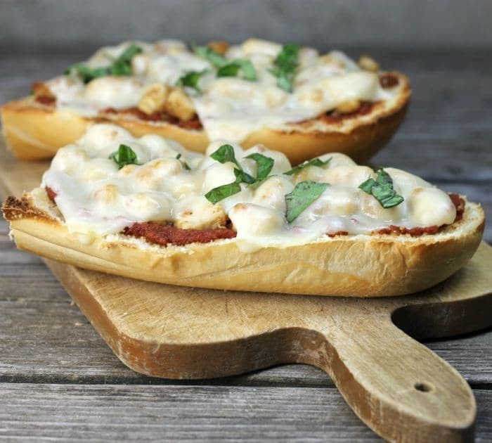 Chicken Parmesan French Bread Pizza