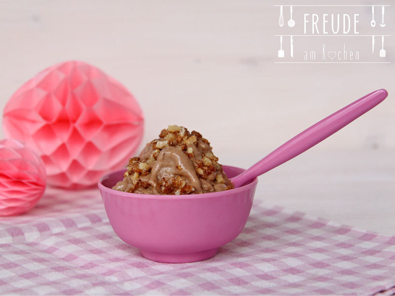 {Thermomix TM 5 Rezept} Bananen Kaffee Eis - Nicecream #vegan