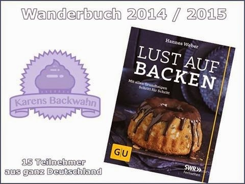 Lust auf Backen - Wanderbuchaktion