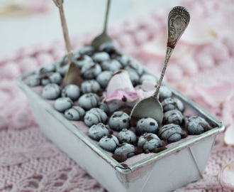 blueberry chocolate ice cream