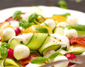 Courgette-walnootsalade