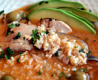ASOPAO DE POLLO – PUERTO RICAN CHICKEN AND RICE STEW