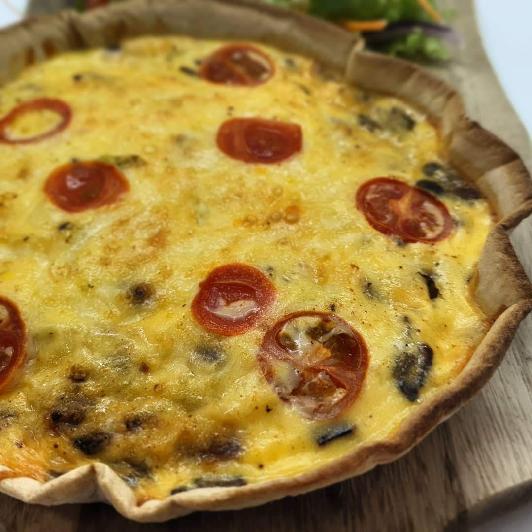Low Calorie Quiche Recipe with Lo Dough