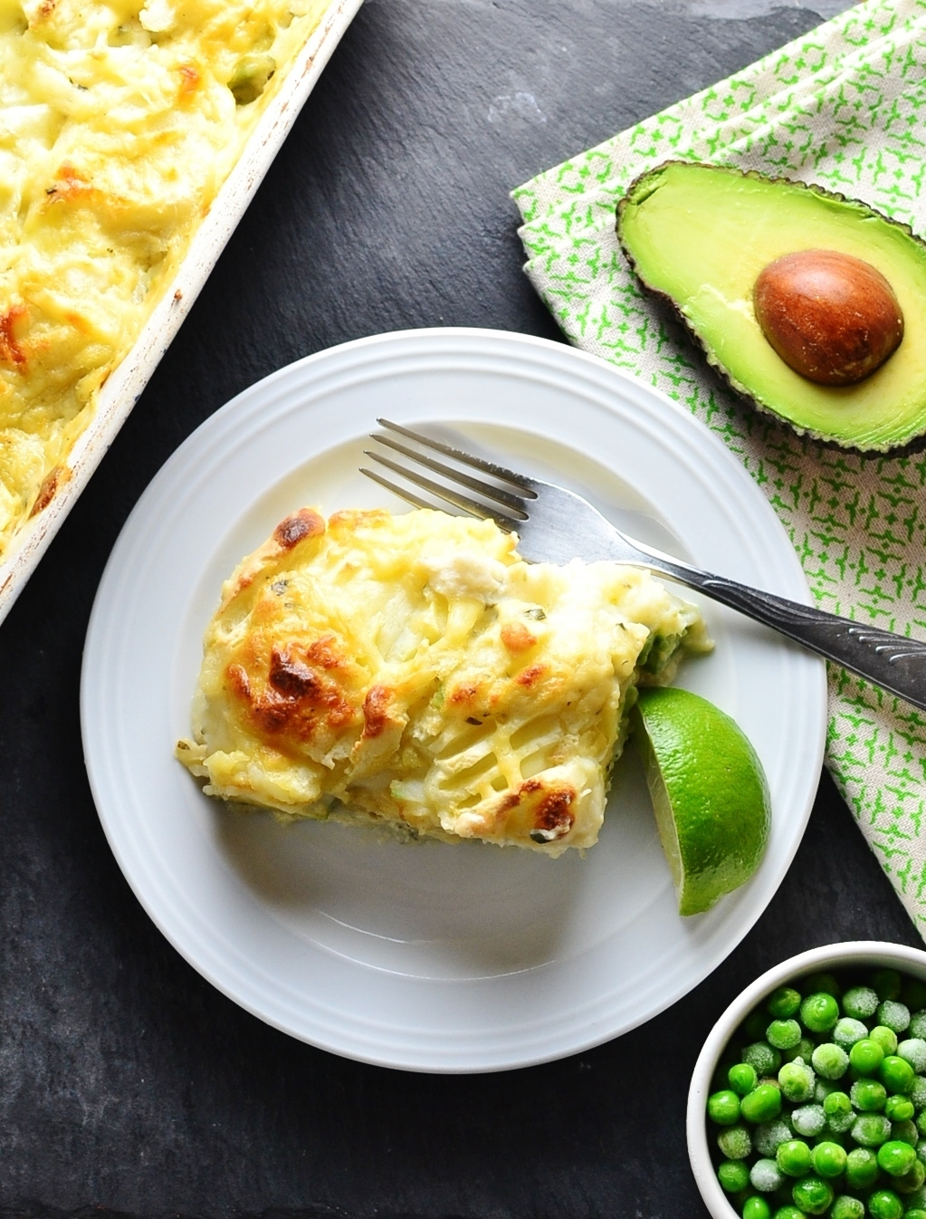 Fish Pie with Avocado and Tarragon