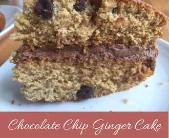 Chocolate Chip Ginger Cake