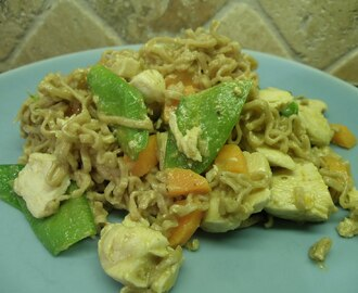 Kyckling paneng red curry