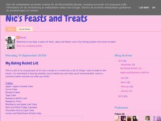 Nic's Feasts and Treats