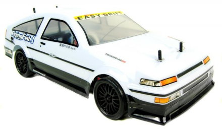 Toyota Trueno Drift RC Bil - PRO Borstlös version