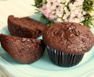 Double Chocolate Rye Muffins and Food Revolution Day