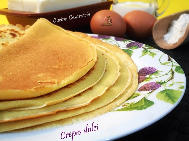 Crepes dolci ricetta base