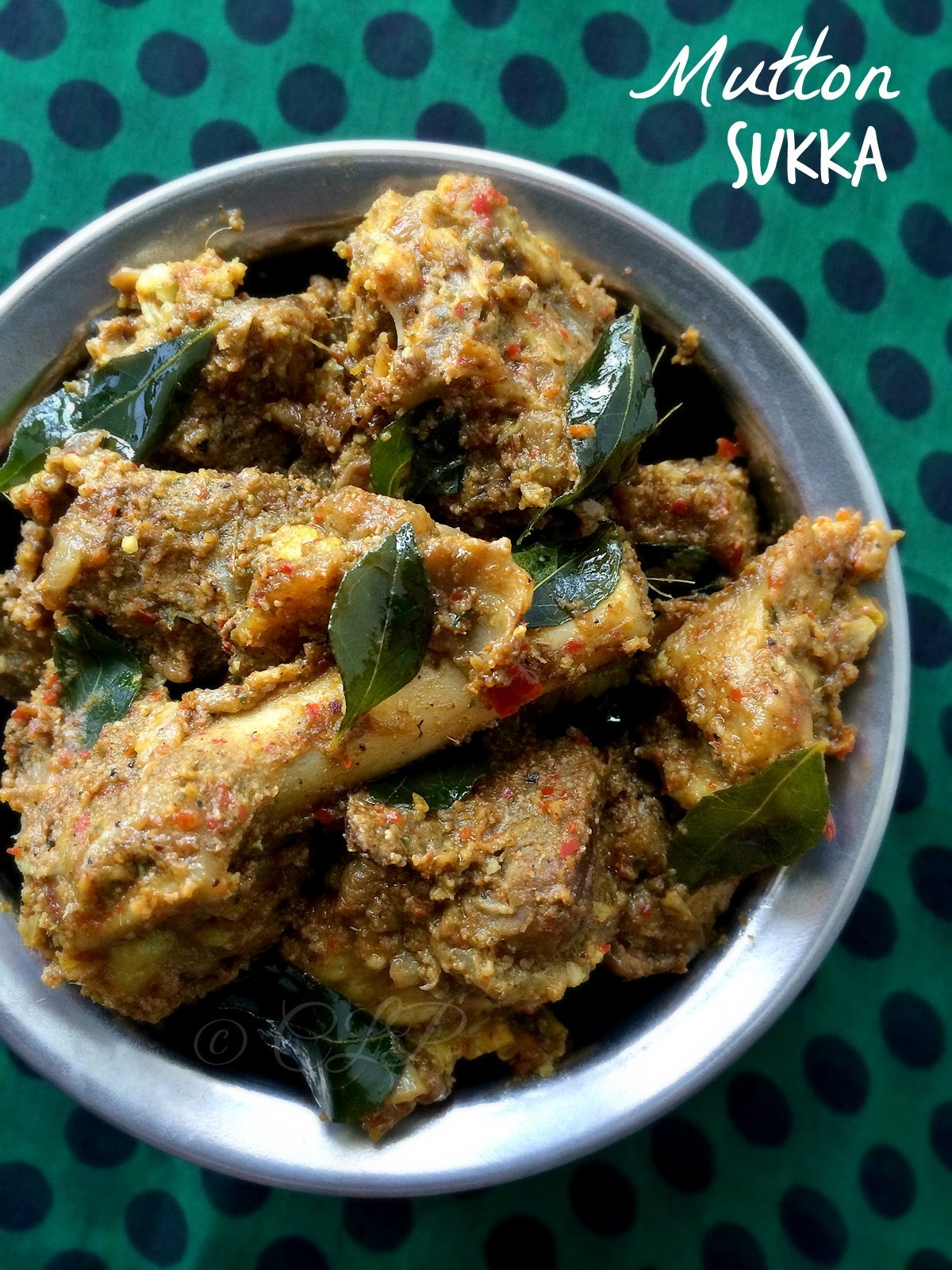 Restaurent style Mutton Sukka Varuval | Chettinad Mutton Chukka Varuval | Spicy Lamb or Goat fry