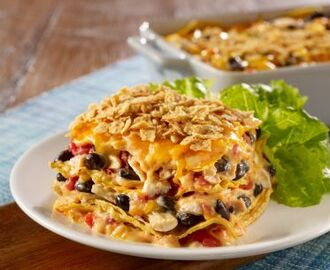 Chicken and Cheese Mexican Casserole